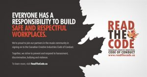 Read the Code - Canadian Creative Industries Code of Conduct